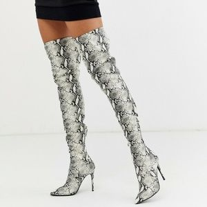Steve Madden Dominique Thigh High Over Knee Boots